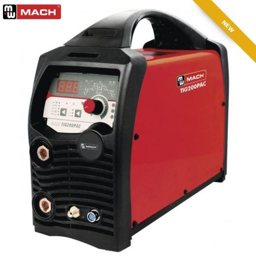 TIG200PAC - AC/DC Machine incl. toorts