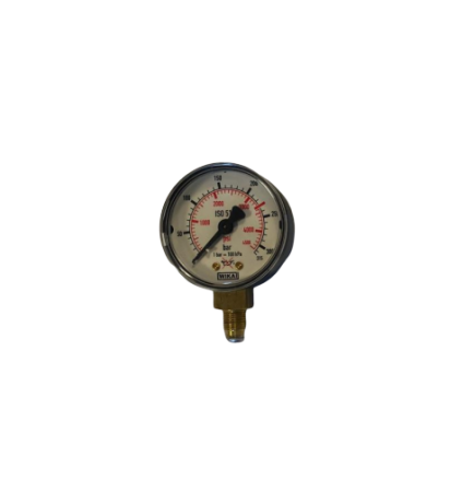 Manometer 0-315 bar 50 mm - 1/8 - Argon/Menggas